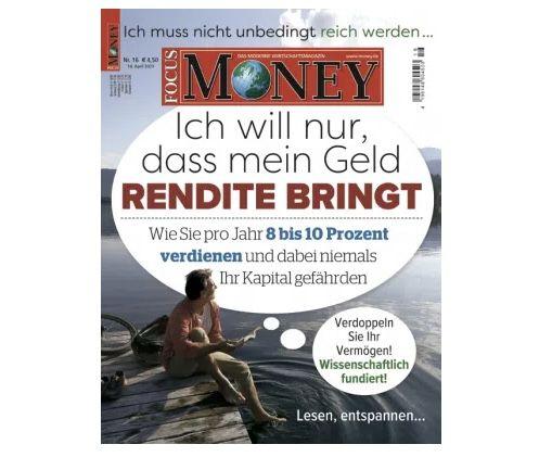 25 Ausgaben Focus Money Print für 117,50€ + Prämie: 110€ BestChoice Gutschein