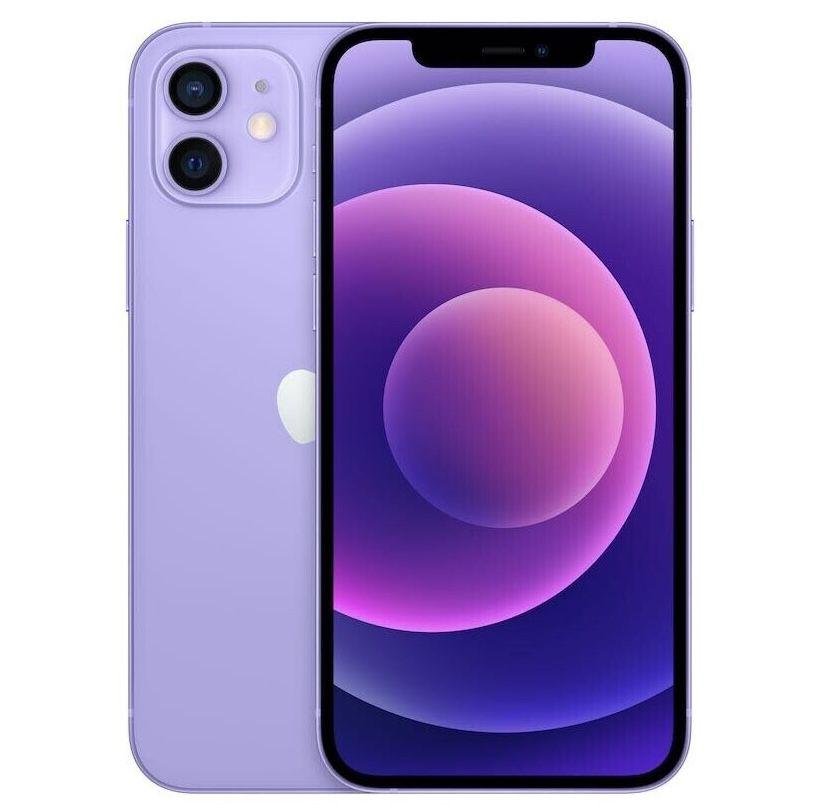 Apple iPhone 12 mit 64GB im neuen Violett für 4,95€ + o2 Allnet Flat mit 120GB LTE/5G inkl. Connect Funktion für 44,99€ mtl.