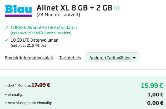 Xiaomi Redmi Note 10 Pro 128GB + True Wireless EarBuds für 1€ + o2 Allnet Flat mit 10GB LTE für 15,99€ mtl.