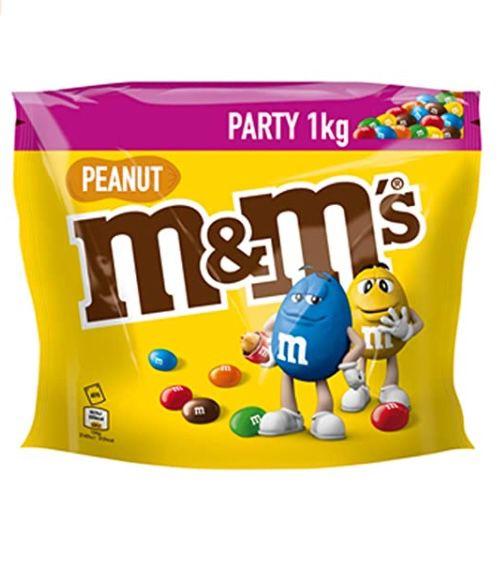5 für 4 Lebensmittel Aktion bei Amazon – z.B. M&M'S 5kg Peanut Schokolinsen für 33,95€ (statt 49€)