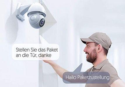 Victure PC660   1080p Überwachungskamera für Außen mit App Steuerung für 39,99€ (statt 60€)