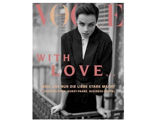 9 Ausgaben Vogue für 76,60€ + Prämie: 60€ Scheck