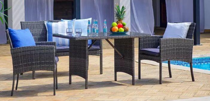 Loungegarnitur Marokko in Anthrazit ab 189€ (statt 249€)