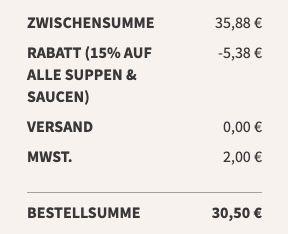 Little Lunch Grill Editionen für 2,54€ (statt 2,99€)   keine VSK ab 12 Suppen
