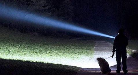 Wuben L50   1200 Lumen Mini LED Taschenlampe mit bis zu 200m Reichweite für 16,99€ (statt 30€)