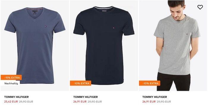 Tommy Hilfiger Shirt Sale bis 40% Extra Rabatt z.B. Shirts ab 20,18€ oder Polos ab 46,32€