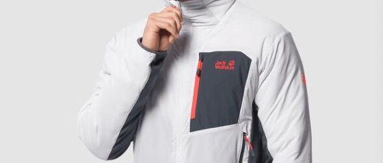 Jack Wolfskin Atmos Isolationsjacke in Weiß für 92,90€ (statt 110€)