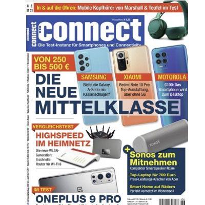Jahresabo des Technik-Magazins connect direkt für 29,95€ (statt 84€) – ohne Prämie direkt günstig!