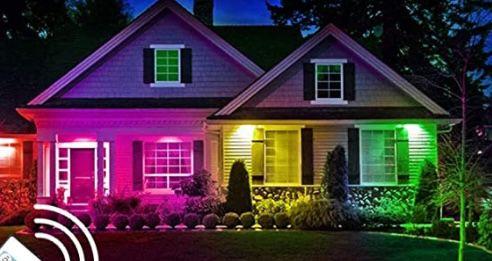 Hengda RGB LED Strahler mit Fernbedienung im 2er Pack 50W für 21,49€ (statt 43€)