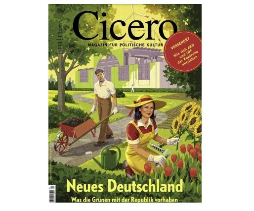 GRATIS! 4 Ausgaben Cicero ganz ohne Prämie (statt 37€)