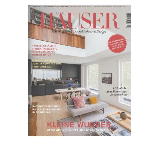 Häuser Fachzeitschrift im Jahresabo mit 6 Ausgaben für 63€ + Prämie 35€ Amazon Gutschein