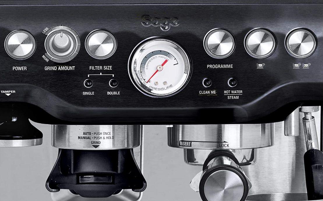 Sage Appliances SES875 the Barista Express Siebträgermaschine für 401€ (statt 604€)