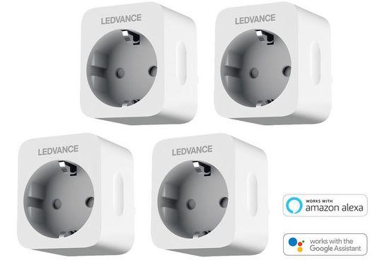 4er Pack Ledvance Smart+ Plug WLAN Steckdosen für 24,99€ (statt 38€)