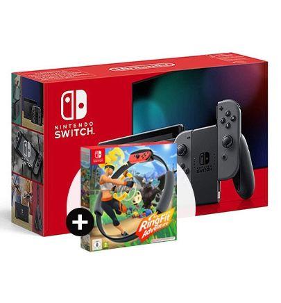Nintendo Switch Konsole (neue Version) inkl. Ring Fit Adventure für 3,99€ + Vodafone Allnet-Flat inkl. 15GB LTE für 19,99€ mtl.