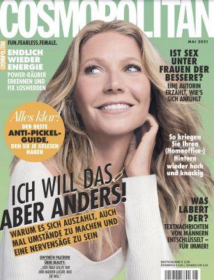 12 Ausgaben Cosmopolitan für 45,60€ + Prämie: 50€ Gutschein