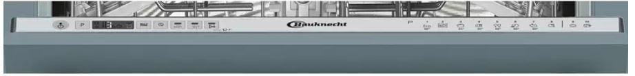 Bauknecht BCIO 3C33 EC vollintegrierbarer Geschirrspüler für 389€ (statt 509€)
