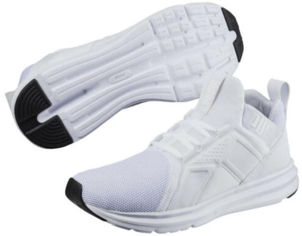 Puma Enzo Mesh Herren Laufschuh in Weiß für je 34,95€ (statt 47€)