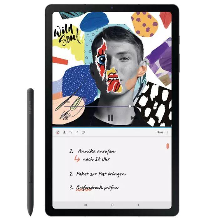 Samsung Galaxy Tab S6 Lite Wi-Fi 10″ Tablet 64 GB + Stift für 202,49€ (statt 249€)