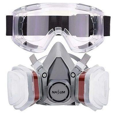 NASUM Schutzmaske M401 aus Silikon mit 2 Filtern für 18,19€ (statt 28€)