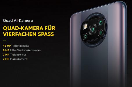 Xiaomi Poco X3 Pro mit 8GB/256GB für 209,60€ (statt 245€)