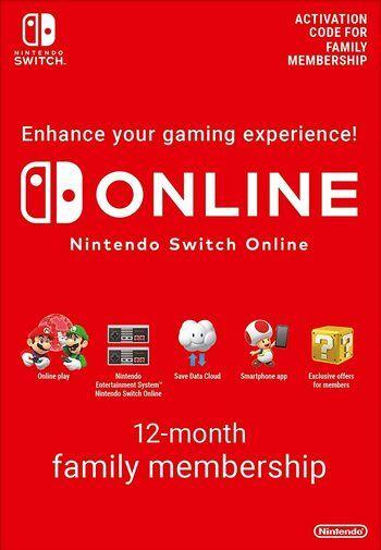 12 Monate Nintendo Switch Familienmitgliedschaft für 25,99€ (statt 29€)
