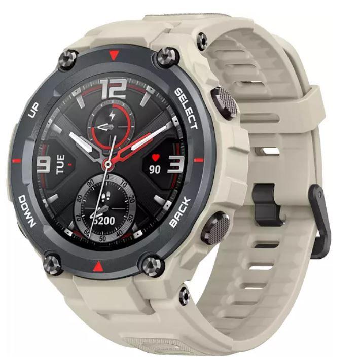 AMAZFIT T-Rex Khaki Smartwatch 78 mm + 123 mm für 85,90€ (statt 99€)
