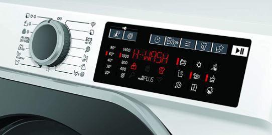 Hoover H WASH 500 HDQ 496AMBS Waschtrockner mit 9 kg & 6 kg für 371€ (statt 450€)