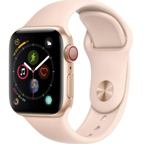 Apple Watch Series 4 GPS+LTE 40mm Gold Alu Pink Sportband für 229,90€ (statt 269€)