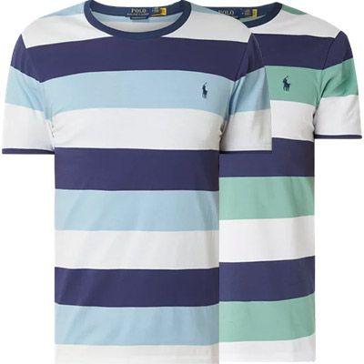 2x Polo Ralph Lauren T Shirt mit Streifenmuster für 47,98€ (statt 80€)