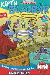Kostenlos: Käptn Blaubär   Die fantastische Verkehrsfibel (Kindergarten)