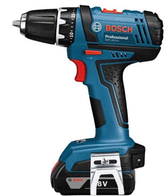 Bosch GSR 18 2 LI Akku Bohrschrauber + 2 x 2Ah Akkus + L BOXX für 105,45€ (statt 149€)