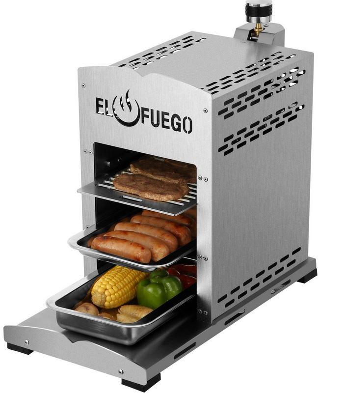 El Fuego AY0422   800° Steakgrill für 99,99€ (statt 113€)