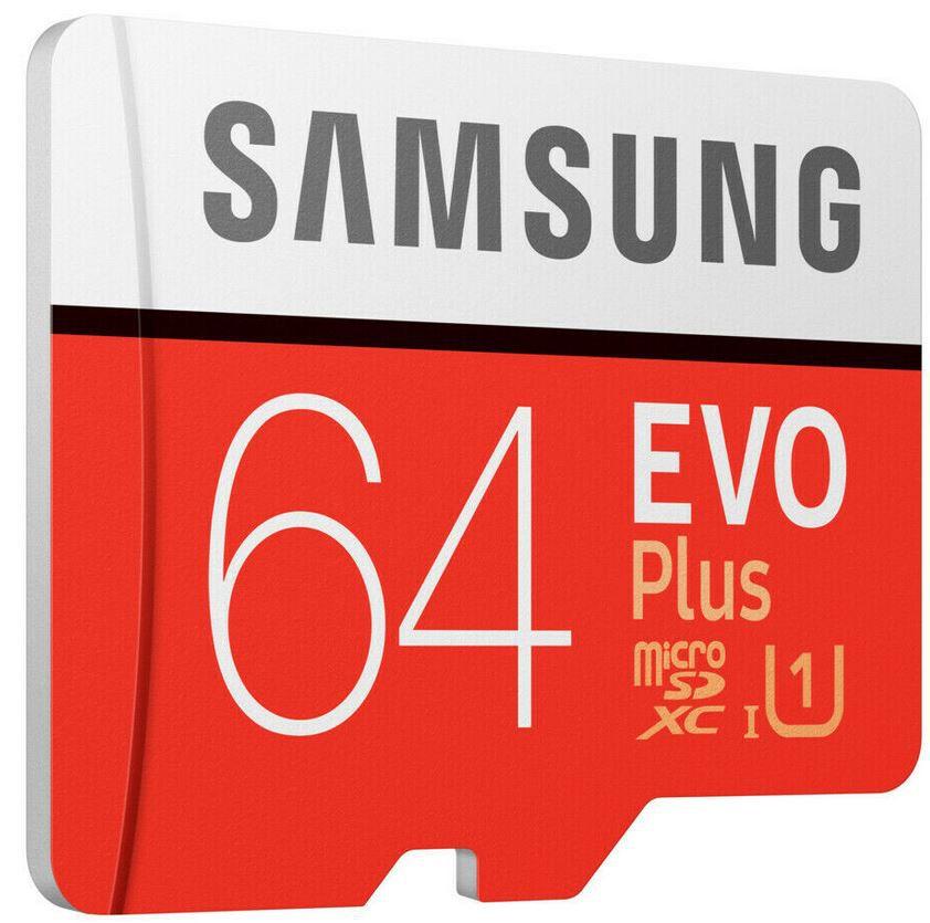 Samsung EVO Plus   64GB Micro SDXC für 8€ (statt 11€)