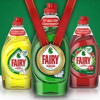 Fairy Spülmittel kostenlos ausprobieren