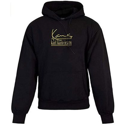 Karl Kani Signature KKJ Oversize Hoodie in Schwarz oder Weiß für je 43,99€ (statt 70€)   XS bis XXL