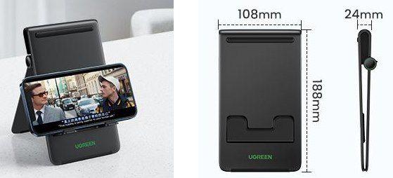 UGREEN Tablet Ständer für bis zu 12,9 Zoll für 7,64€ (statt 13€)   Prime