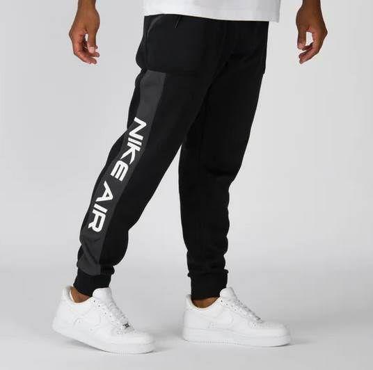 Nike Jogginghose Air Fleece Joggers in Schwarz für 49,99€ (statt 67€)