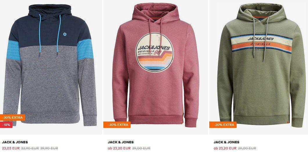 Jack & Jones Hoodies ab 15,22€ bis 30€ bei About You   über 80 Modelle!