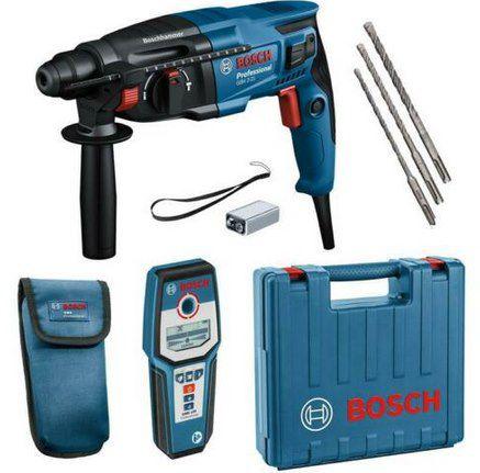 Bosch Bohrhammer GBH 2-21 inkl. Koffer & Leitungssucher GMS 120  für 159,95€ (statt 192€)