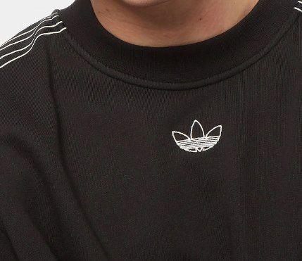 adidas SPRT Sweat Crew Sweater in Schwarz für 38,99€ (statt 57€)