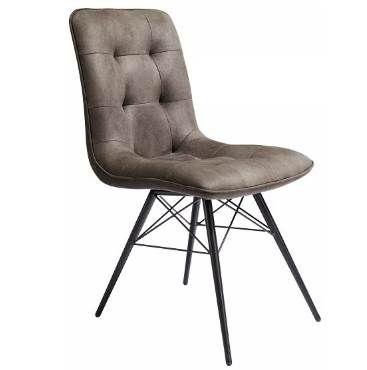 Hom`in Stuhl aus Eukalyptusholz mit Mikrofaserbezug ab 49,90€ (statt 60€)