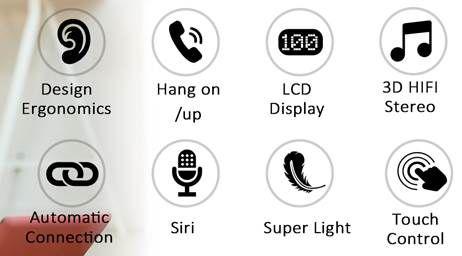 Bakibo S8 BT 5.1 TWS InEar Kopfhörer für 14,99€ (statt 31€)