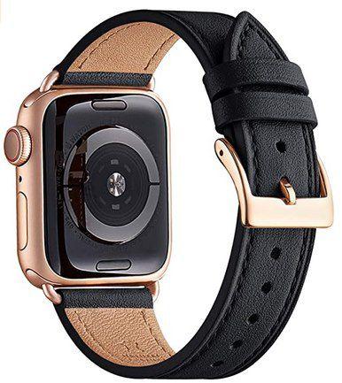 50% Rabatt auf QUAZNZ Lederarmbänder (38 – 44mm) für Apple Watch ab 9,99€ – Prime