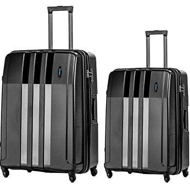 2er Set: Kemier Trolley Koffer mit 4 Räder & TSA Schloss für 64,99€ (statt 130€)