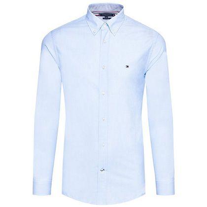"""Tommy Hilfiger Hemd """"Natural Soft Poplin"""" in 2 Farben für je 59,90€ (statt 80€)"""