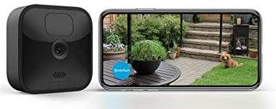 Blink Outdoor HD Sicherheitskamera mit Bewegungserfassung für 69,90€ (statt 82€)