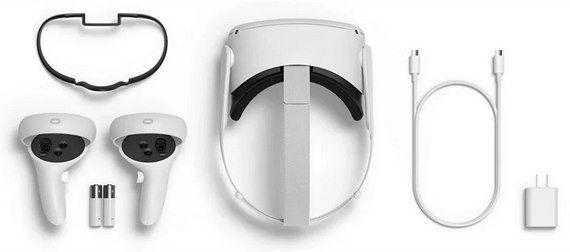 Oculus Quest 2 (64GB) Virtual Reality Headset für 378,20€ (statt 401€)