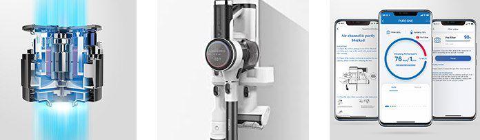 Tineco Pure One S12 Akkustaubsauger mit 22Kpa, Display & App Anbindung für 364€ (statt 459€)
