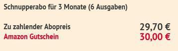 6 Ausgaben MOTORRAD für 29,70€ + 30€ Amazon Gutschein