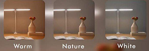 HIYATO LED Schreibtischlampe mit 3 Modi für 12,93€ (statt 20€)   Prime